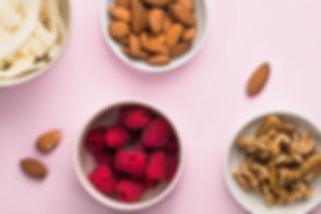 Raspberry and Various Nuts