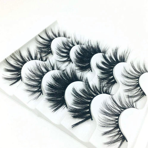 Budget babe lash book! 5 pairs of lashes!