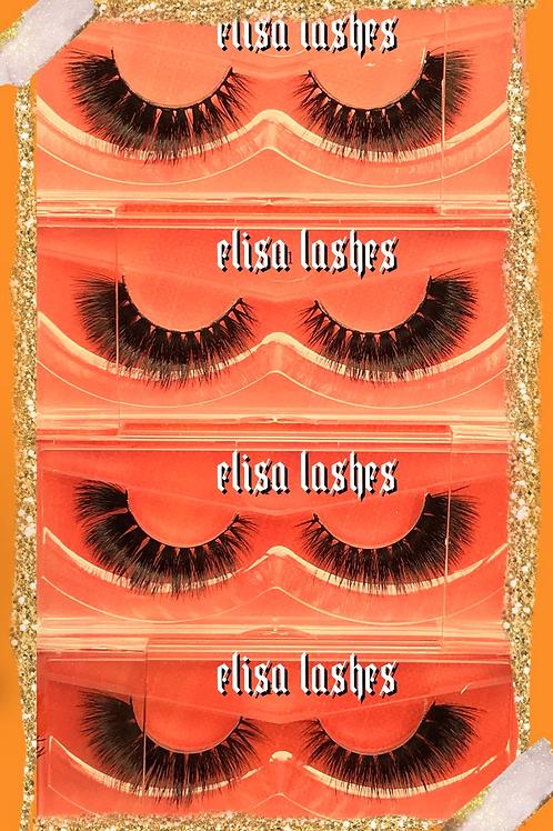 Bundle Elisa Lashes - 4 Pairs
