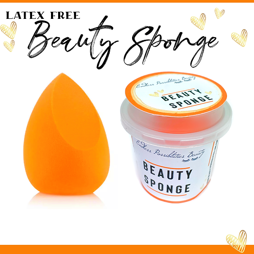 Latex Free Beauty Sponge and Mini Cup Storage