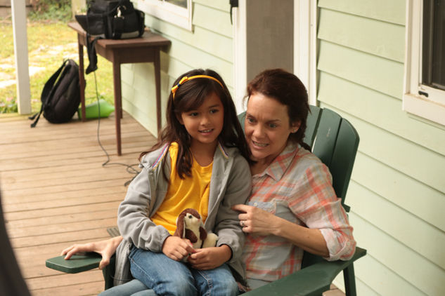 Jenna Kuna (Beth) with Carolena Arias (Kaylah)