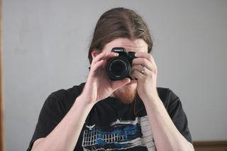 Producer (and still photographer) Matthew Roe