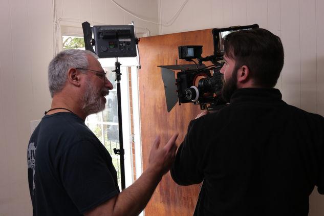 David Stern with Ross Godwin
