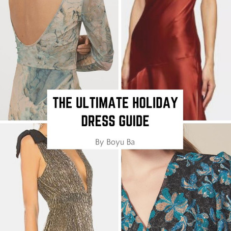 The Ultimate Holiday Dress Guide