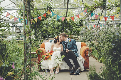 secret herb garden Edinburgh wedding flowers