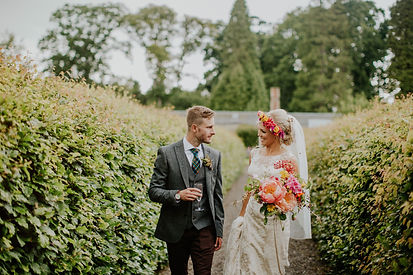 Edinburgh wedding florist