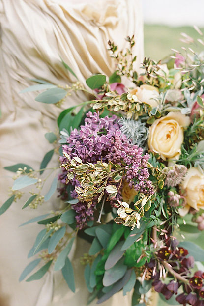 alternative wedding florist scotland