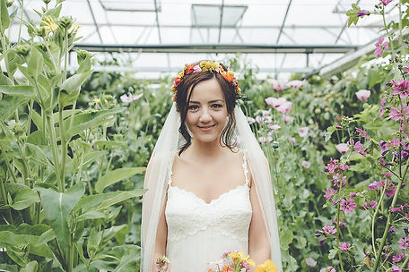 creative edinburgh wedding flowers