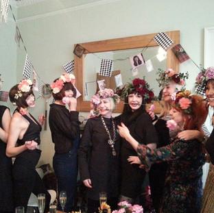 Flower crown hen party, Edinburgh