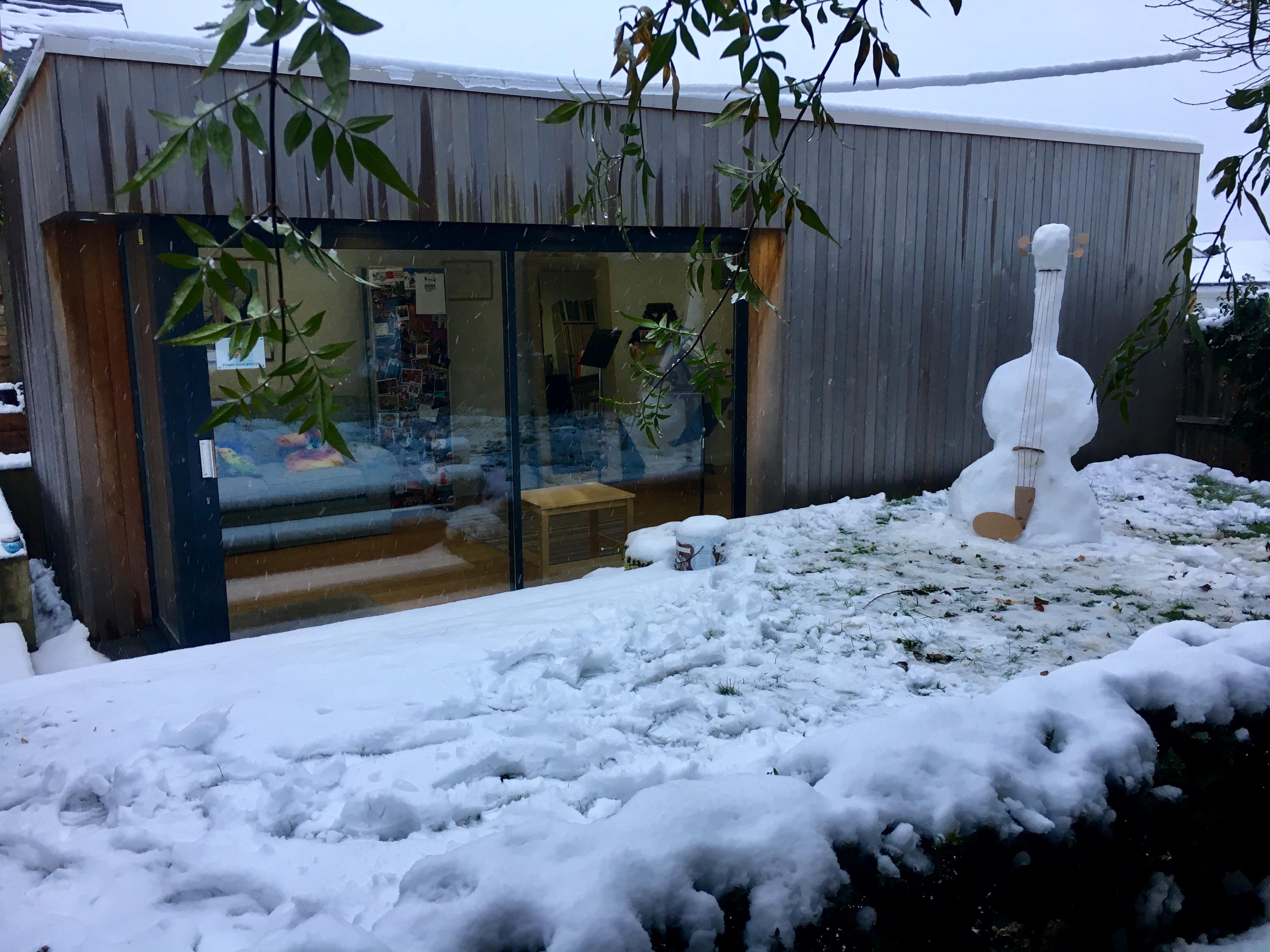 Studio Snow Viola!