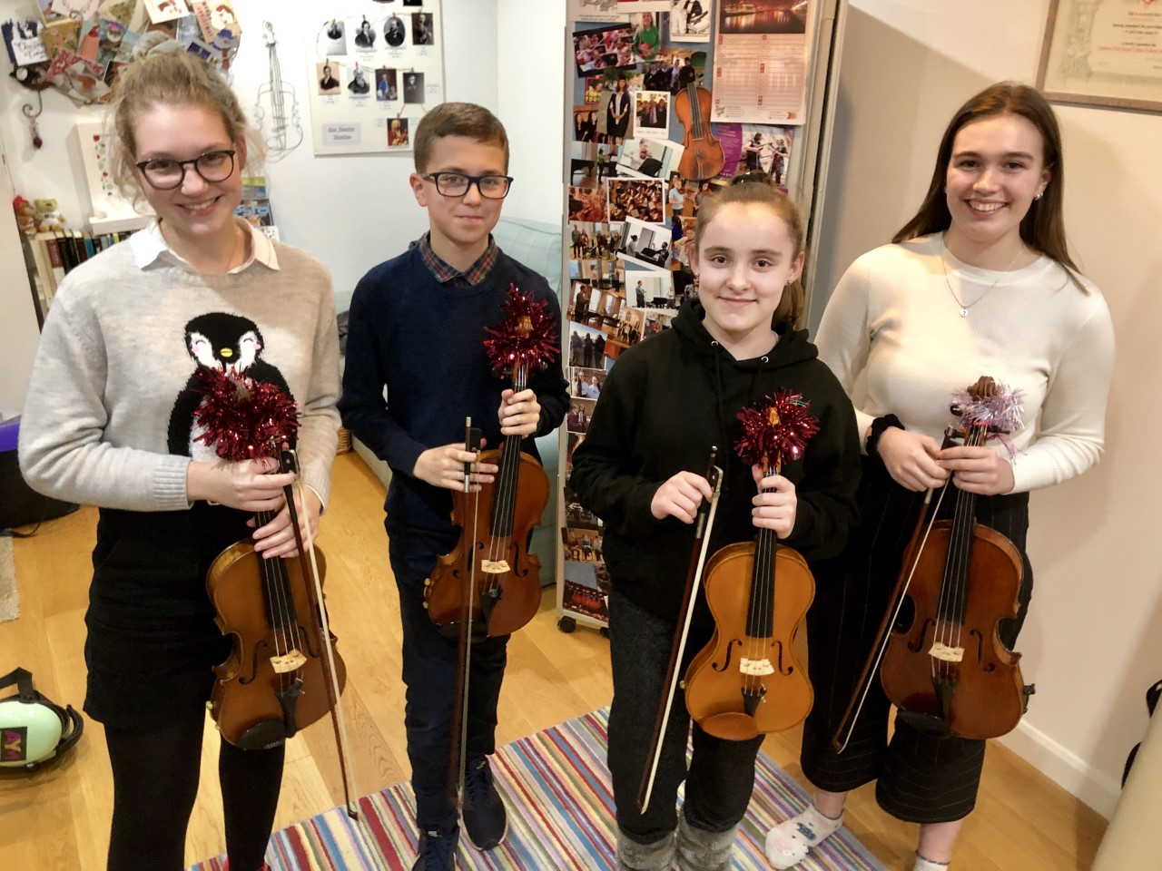 Benslow Viola Quartet