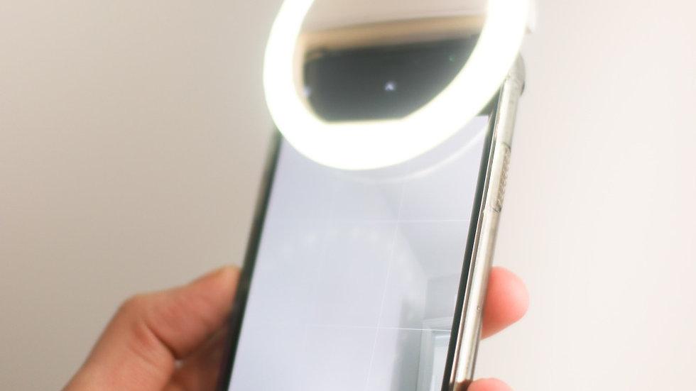 Selfie light clip