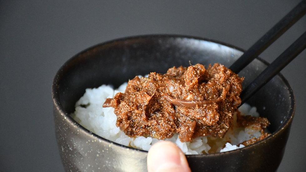 佐渡真鱈の真砂和え(瓶詰め)