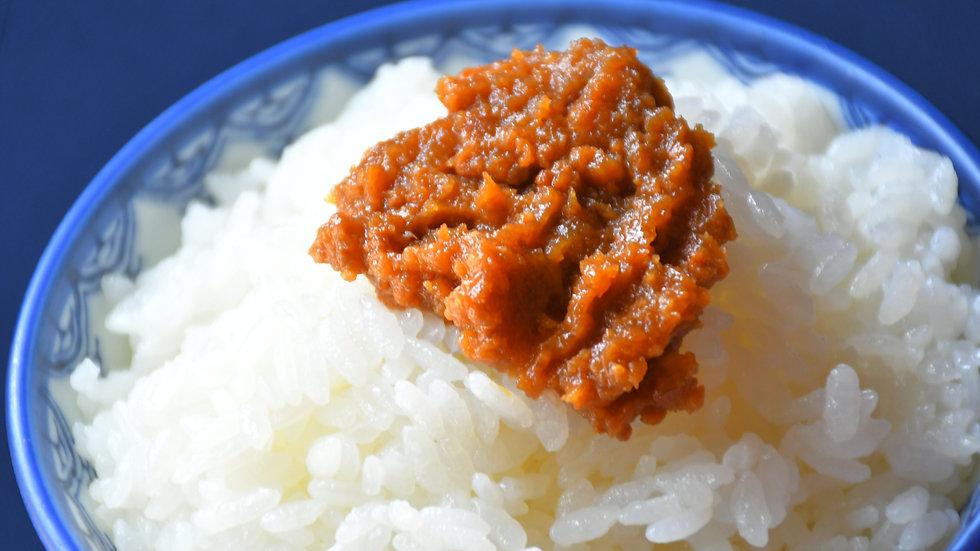 佐渡島黒豚の豚味噌(瓶詰め)