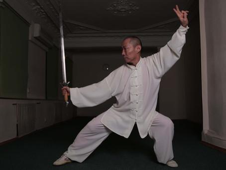 Тайцзицюань стиля Ян с прямым мечом цзянь