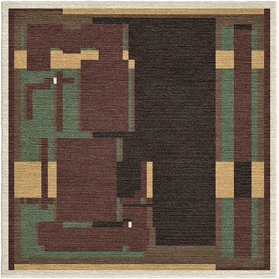 Anno 1931 carpet design by artist Adamson-Eric