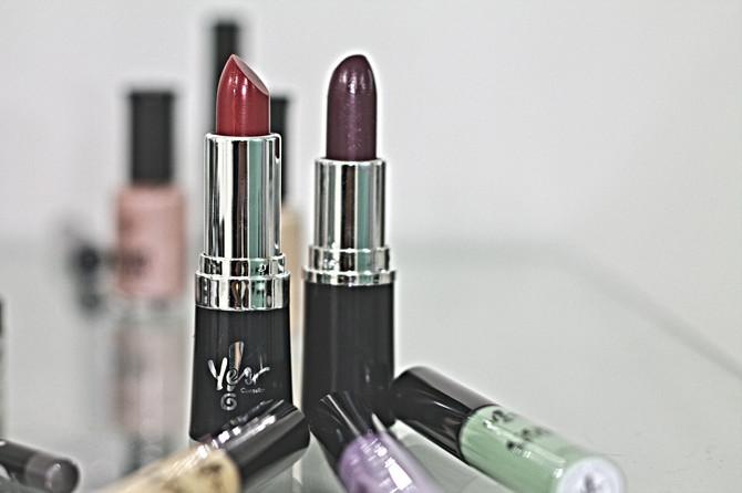 Paleta de cores para maquiagem outono/inverno