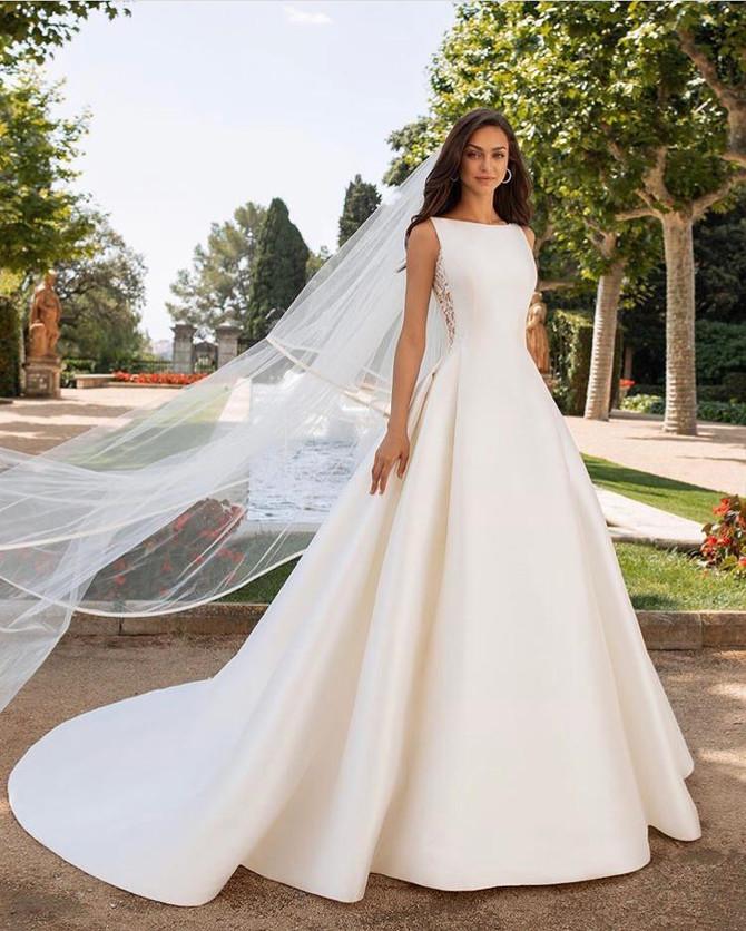 Vestidos de noiva que são desejo do momento