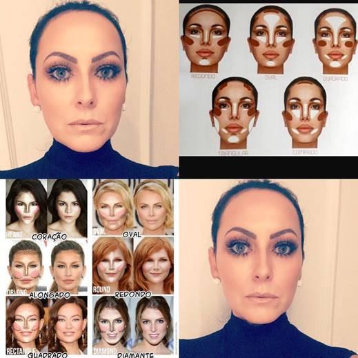 Qual é o formato do seu rosto?
