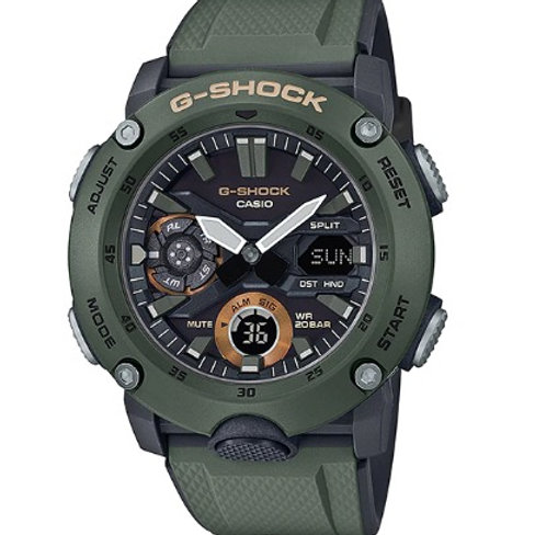 Relógio Casio G-SHOCK GA-2000-3A