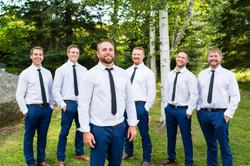 Fall wedding Dryden Ontario