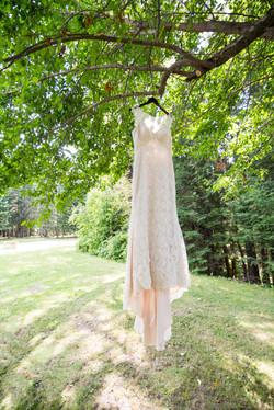 Summer wedding Dryden Ontario