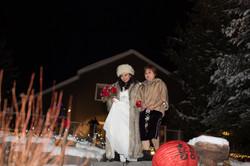 Winter Wedding Dryden Ontario