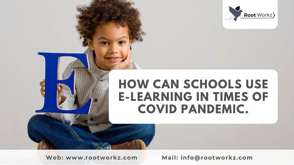 Increased E-learning in schools during the COVID pandemic