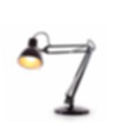 Черный Настольная лампа 2