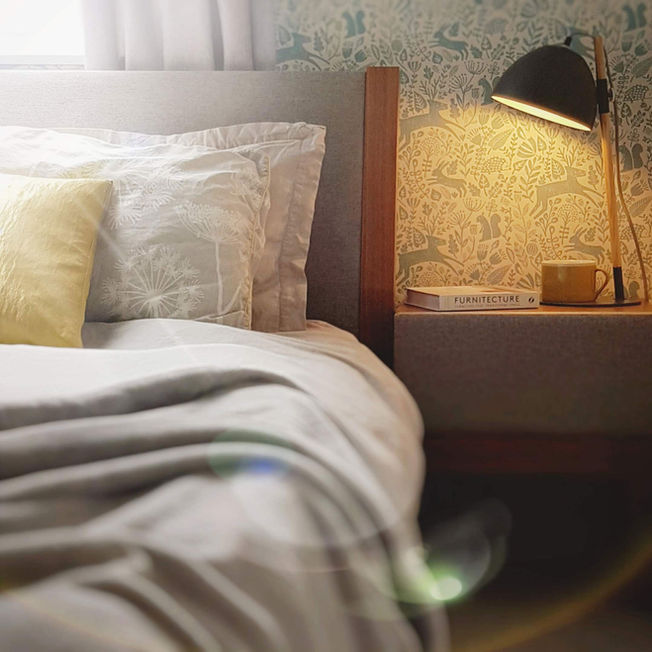Interior Scandi Bedroom