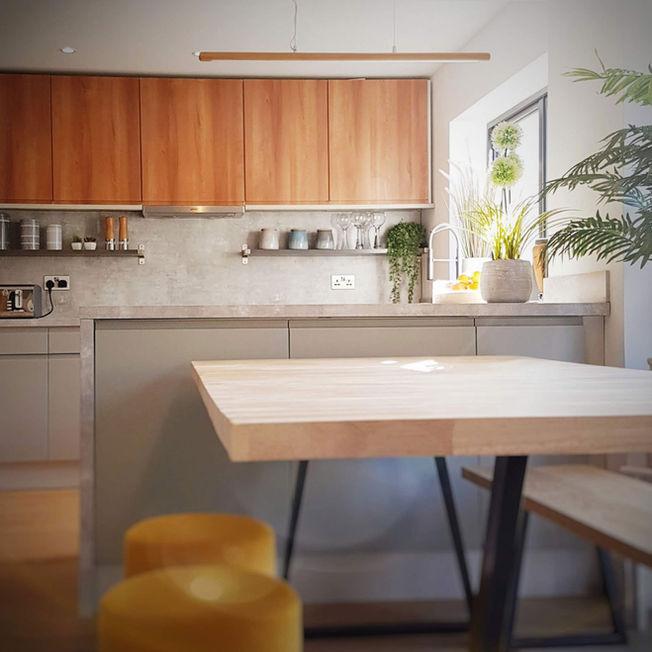 Internal Refurbishment Kitchen Design