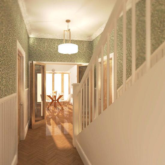 Interior Hallway Visualisation