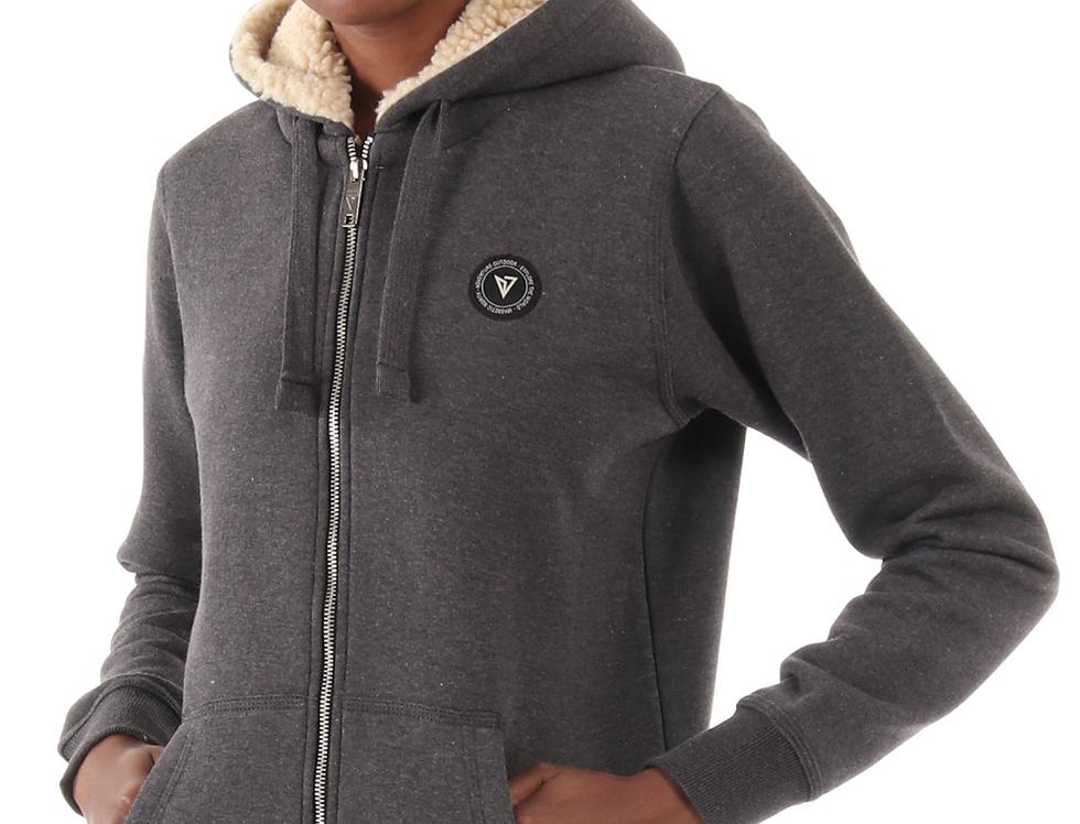 Women's Zipper Hoodie Sherpa