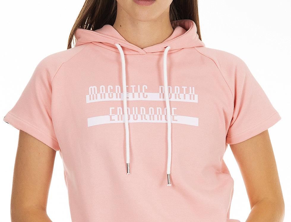 Women's Short Sleeve Hoodie
