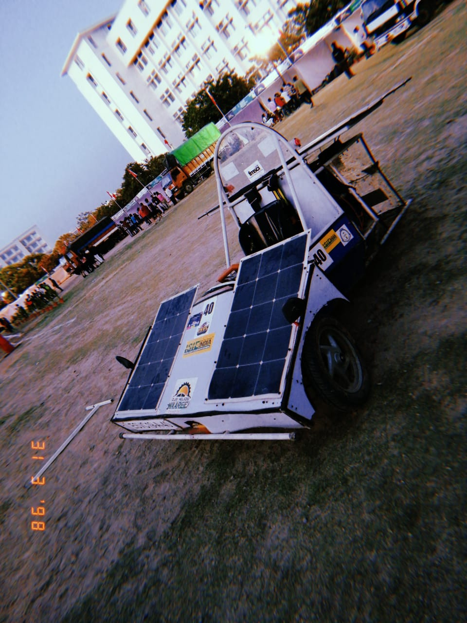 DJS Helios, Solar Electric Vehicle, Student team from Mumbai