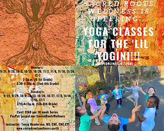 Yoga Classes for the 'Lil Yogini Via Zoo