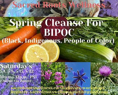 Sacred Roots Wellness- Spring Cleanse fo