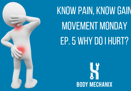 Why do I hurt? Movement Monday #5
