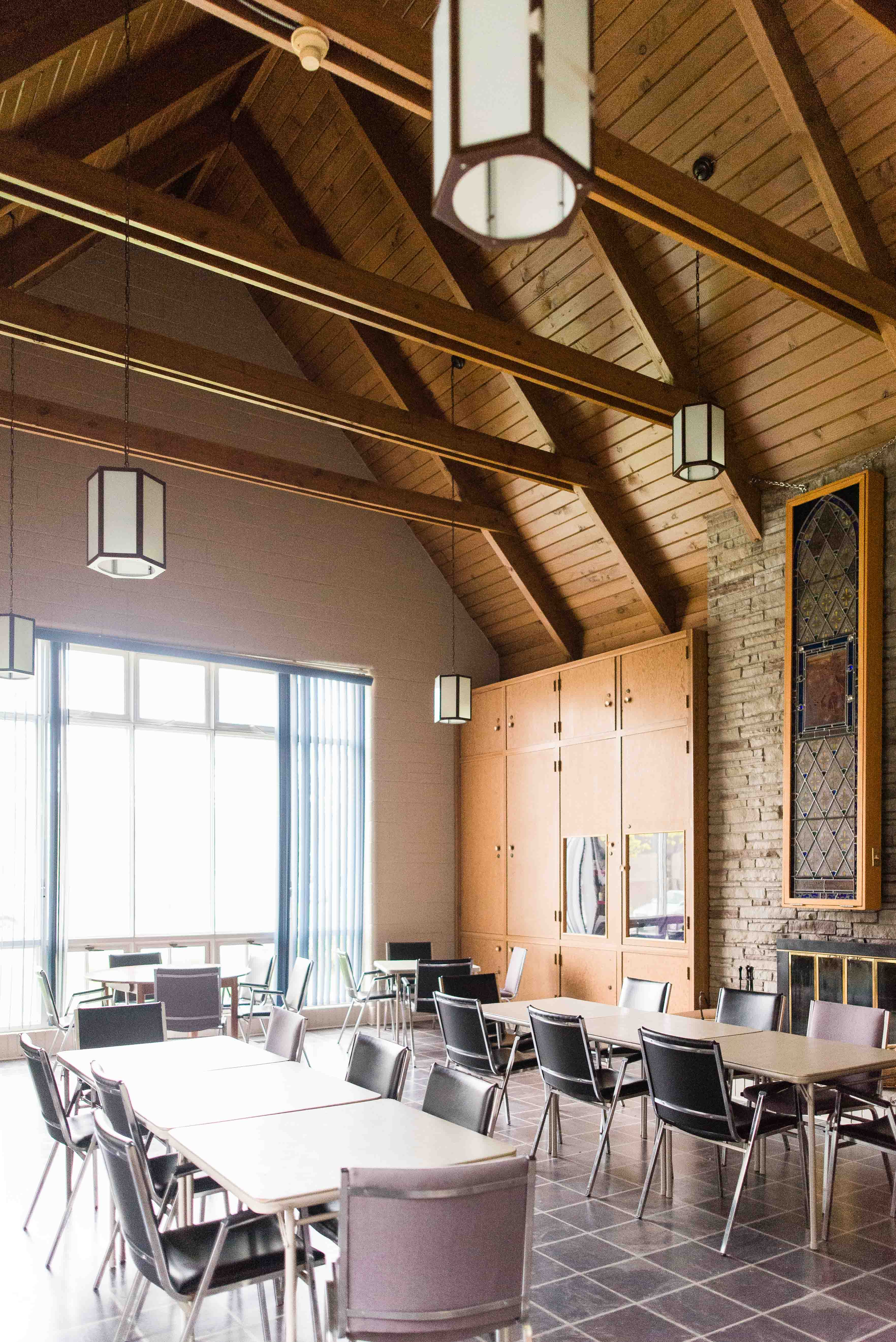 Parish hall (with fireplace)