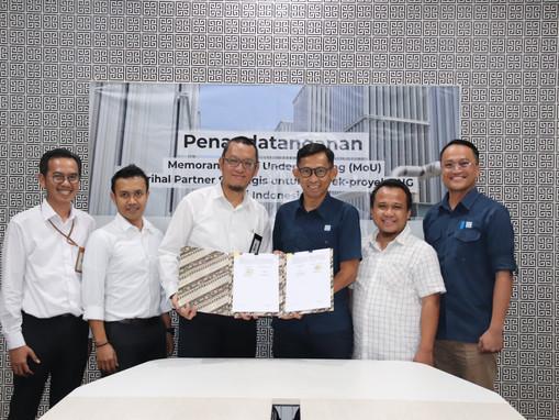 PP dan PEL Jalin Kerjasama Bangun LNG Indonesia