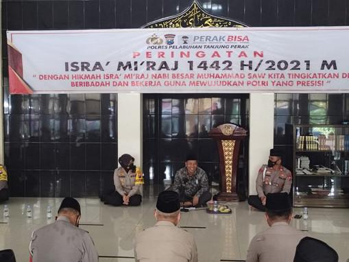 Polres Tanjung Perak Kolaborasi dengan PT PEL Tingkatkan Implementasi AKHLAK