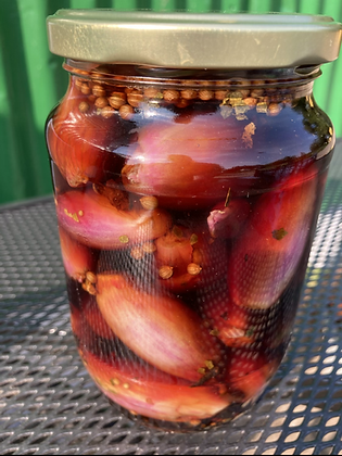Homemade Pickled Shallots
