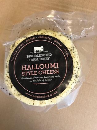 Halloumi style cheese