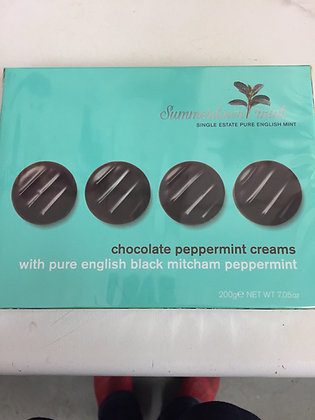 Summerdown Dark Chocolate Peppermint Creams