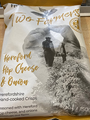 Two Farmers Hereford Hop Cheese & Onion Crisps