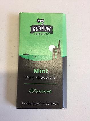 Kernow Mint Dark Chocolate 37g