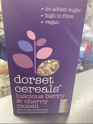 Dorset Cereal Berry and Cherry Muesli