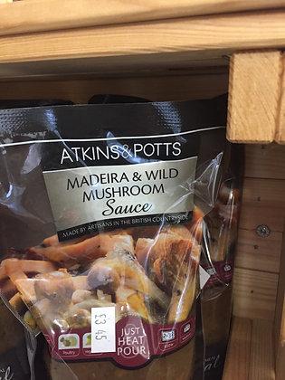 Madeira & Wild Mushroom Sauce