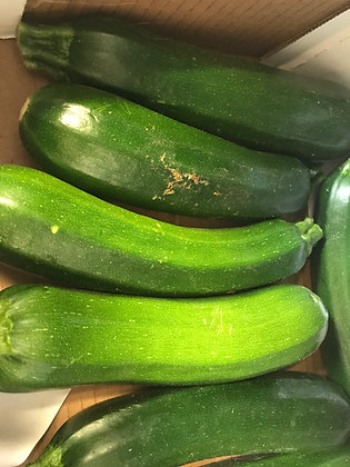 Courgettes price per 250g