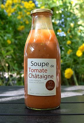 Soupe tomate & chataîgne